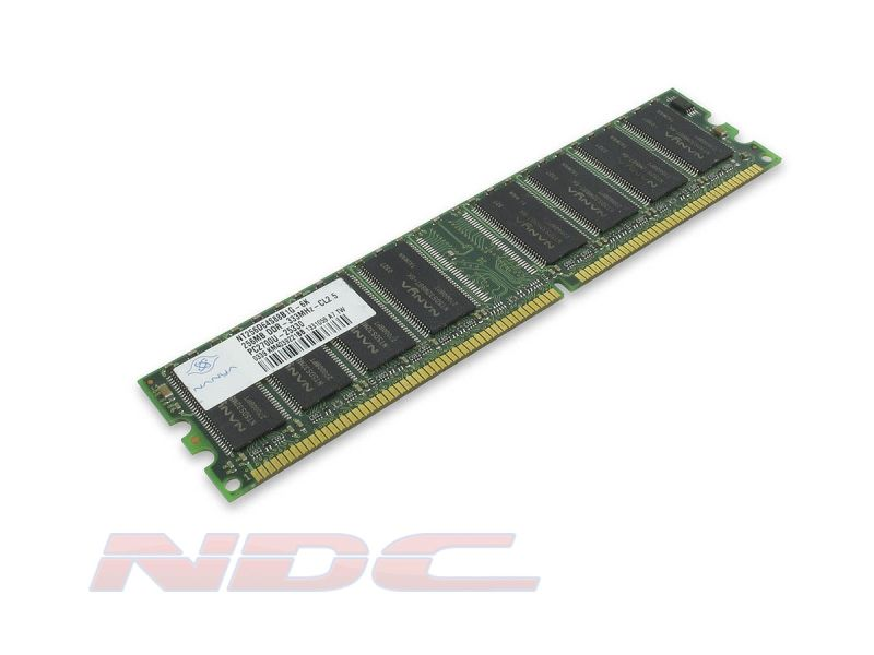 Nanya 256MB DDR1 PC2700S DIMM RAM Module