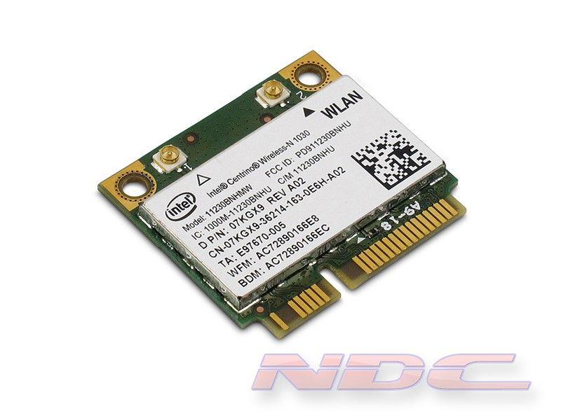 Dell Intel Centrino Wireless-N 1030+BlueTooth 3.0+HS Combo PCI Express Half Height Mini-Card