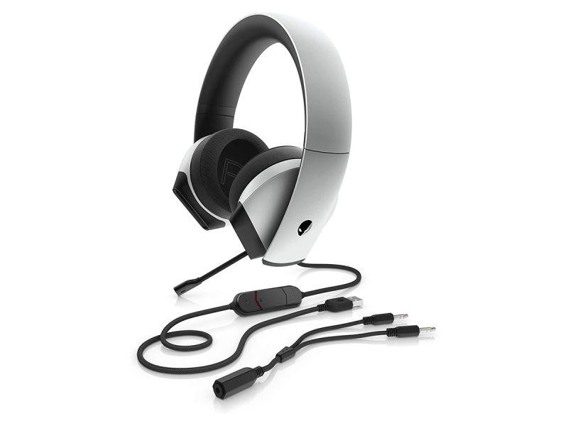 Alienware AW510H 7.1 Headset - Lunar Light (Refurbished)