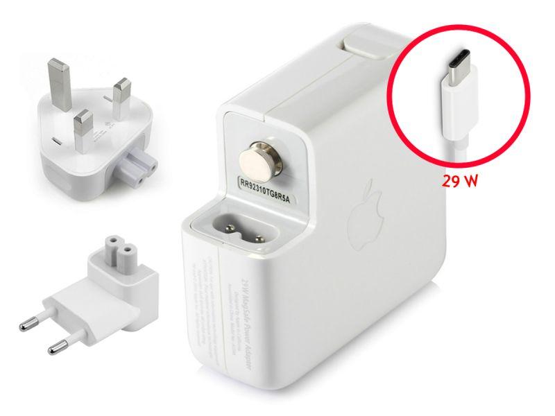 Genuine Apple 29W USB-C Macbook 12 UK+EU Wall Charger (14.5V/2A)