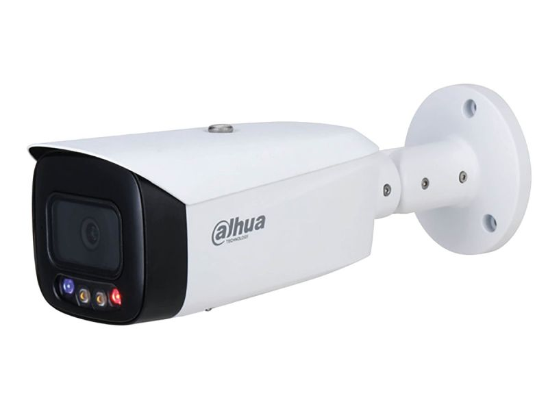 Dahua IPC-HFW3849T1P-AS-PV - 8MP Full Colour Fixed-Focus Network/PoE Bullet CCTV Camera 2.8mm