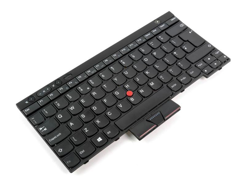 04X1344 Lenovo ThinkPad T430 / T530 / X230 / L430 / L530 / W530 UK English Keyboard-4