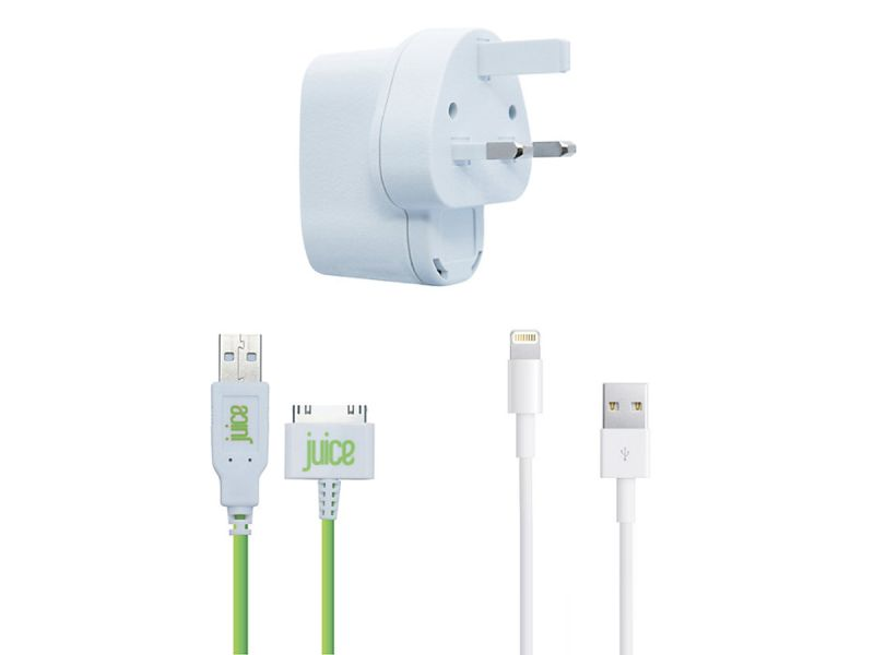 Juice iPhone Charger + Lightning Cable