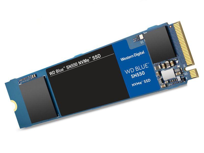 250GB WD Blue SN550 NVME Internal SSD Drive