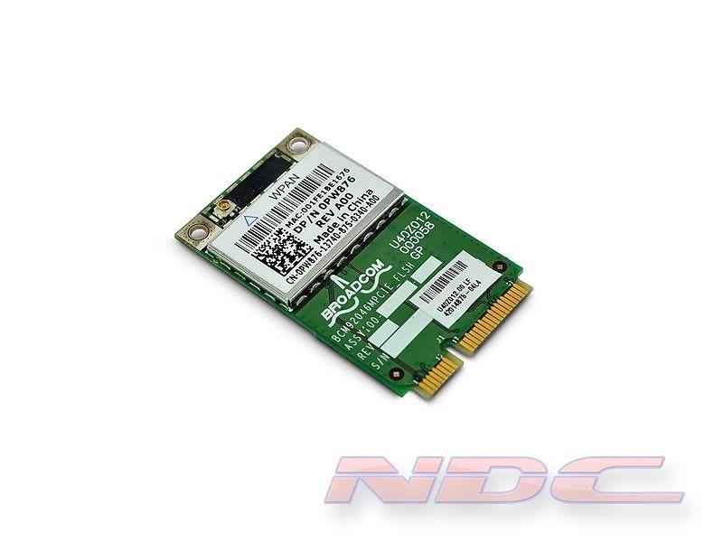 Dell Wireless 370 TrueMobile Bluetooth 2.1+EDR WPAN PCI-Express Mini-Card 0PW876