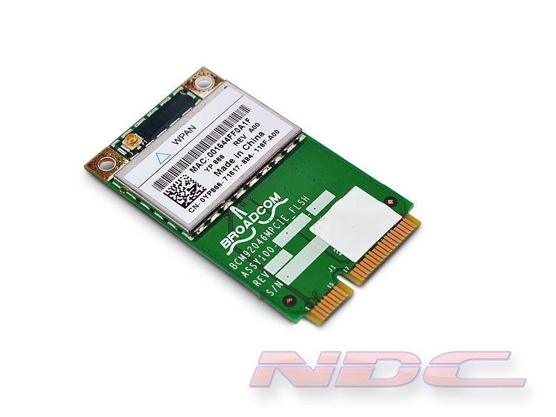 Dell Wireless 370 TrueMobile Bluetooth 2.1+EDR WPAN PCI-Express Mini-Card 0YP866