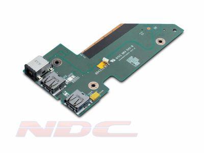 Dell Studio 17 - 1735/1737 DC Power Jack/USB Board - NU327
