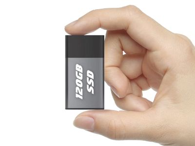 120GB External Portable USB 3.0 SSD Drive for Laptop / Desktop