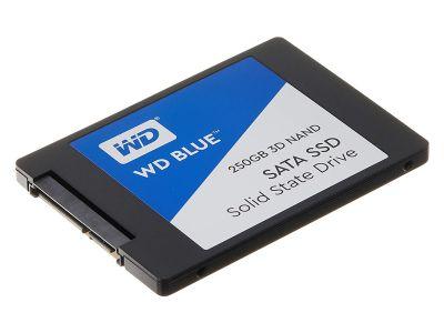 WDS250G2B0A 250GB WD Blue 3D NAND 2.5-inch 7mm SSD Driv