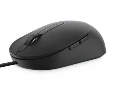 Dell MS3220 Laser Wired Mouse - 3200 DPI - Black