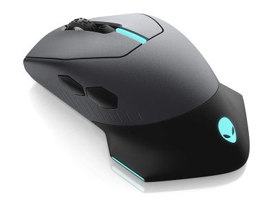 Alienware AW610M Wired/Wireless Mouse AW610M - Dark Side of the Moon (Refurbished)