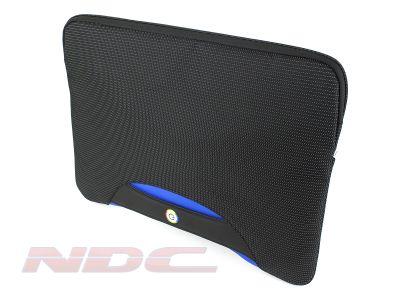 "Brenthaven 16"" blue laptop/Macbook tablet padded sleeve bag"