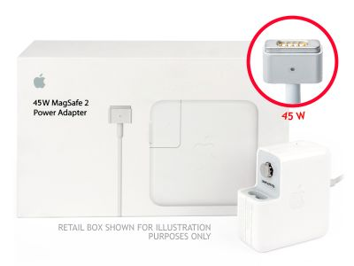 Genuine Apple 45W MagSafe 2 Macbook Air 11/13 UK Block Charger (14.85V/3.05A)