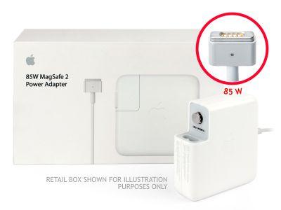 Genuine Apple 85W MagSafe 2 Macbook Pro 15 Retina UK Block Charger (20V/4.25A) - Refurbished
