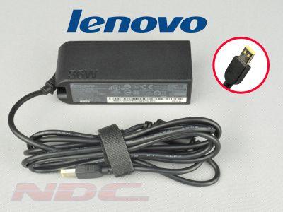 Genuine 36W Slim Square Tip Lenovo 12V 3A ADLX36NCT2C Tablet Charger