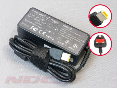 Replacement 45W Lenovo Square Tip 20V 2.25A ADLX45NLC3 36200246 45N0293 Laptop Charger