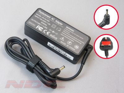 Replacement 65W Lenovo Pin Tip 20V 3.25A Block Charger