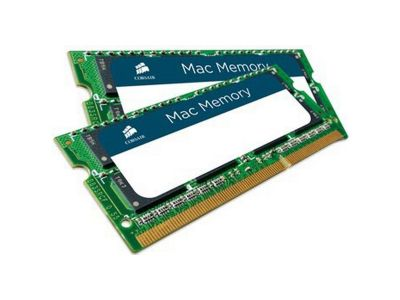 Macbook users demand the highest performance from their systems, especially when working with digital media applications. Corsair's Mac Memory is specifically designed for rock-solid stability in demanding digital media rich environments. Corsair Mac Memo