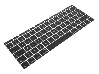 FRENCH Replacement Key Caps for Apple Macbook 12 A1534 / Pro 13 2TB A1708