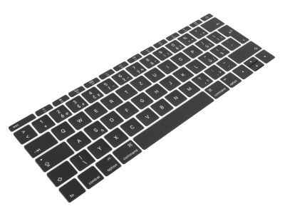 CZECH Replacement Key Caps for Apple Macbook 12 A1534 / Pro 13 2TB A1708