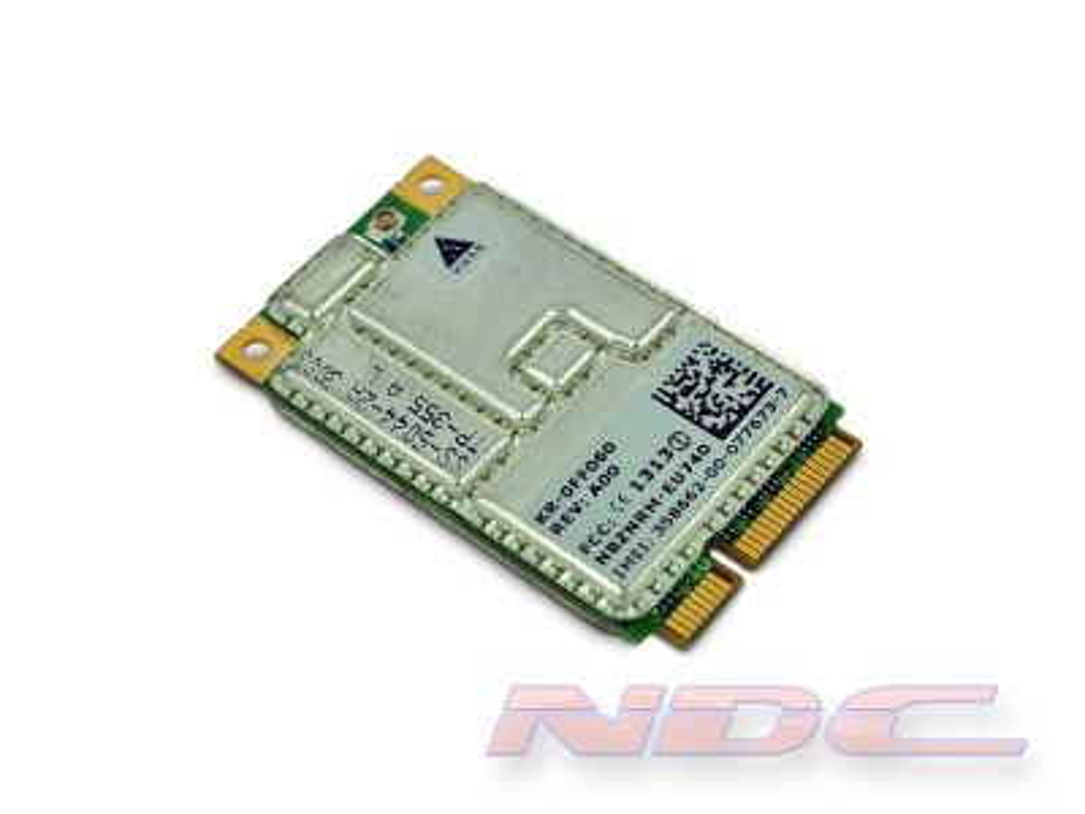 Dell Latitude D820/830 3G/WWAN Wireless Mobile Broadband + GPS Card DW5505