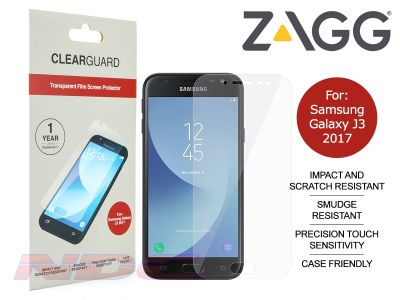 ZAGG ClearGuard PET Screen Protector for Samsung Galaxy J3 (2017)