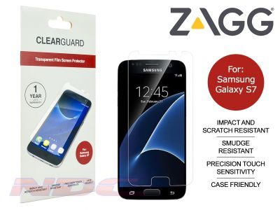ZAGG ClearGuard PET Screen Protector for Samsung Galaxy S7