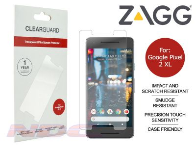 ZAGG ClearGuard PET Screen Protector for Google Pixel XL 2