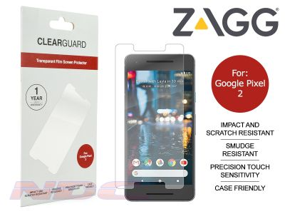 ZAGG ClearGuard PET Screen Protector for Google Pixel 2