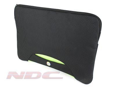 "Brenthaven 16"" Green laptop/Macbook tablet padded sleeve bag"