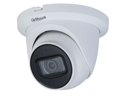 IPC-HDW3841TM-AS - Dahua 8MP 4K WDR/Starlight Fixed-Focus IP/PoE Turret Camera 2.8mm