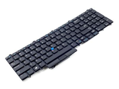 Dell Precision 7510/7520/7710/7720 US ENGLISH Backlit Laptop Keyboard - 0383D7