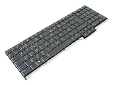 Dell Alienware Area 51m GERMAN Laptop Keyboard with AlienFX LED - 07XWCG