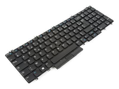Dell Precision 7530/7540/7730/7740 FRENCH Backlit Laptop Keyboard - 0NHJ6Y