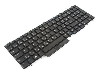 Dell Precision 7530/7540/7730/7740 CZECH/SLOVAK Backlit Laptop Keyboard - 0JCPGV