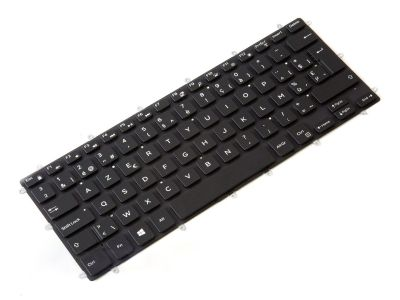 Dell Inspiron 13-7370/7373/7375/7378 BELGIAN Backlit Laptop Keyboard - 0PGKG9