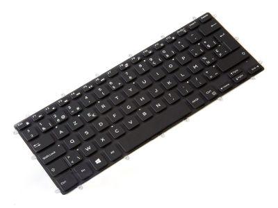 Dell Latitude 13/14 3379/3390/3490 BELGIAN Backlit Laptop Keyboard - 0PGKG9