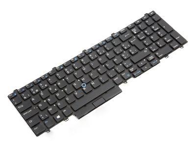 Dell Precision 7510/7520/7710/7720 BELGIAN Backlit Laptop Keyboard - 04WM2N