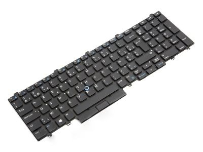 Dell Latitude E5550/E5570/5580/5590 BELGIAN Backlit Laptop Keyboard - 04WM2N