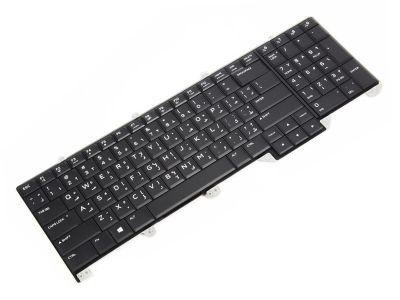 Dell Alienware 17 R4 ARABIC Backlit Laptop Keyboard with AlienFX LED - 0VK0G0