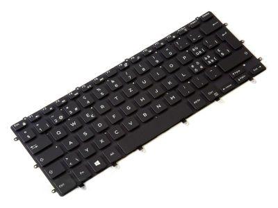 Dell XPS 15 9550/9560/9570/7590 SWISS Backlit Laptop Keyboard - 0GY76P