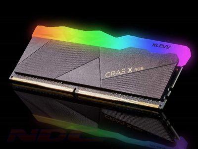 KLEVV CRAS X RGB 16GB (16GB x 1) 3200MHz DDR4 RAM