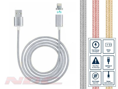 iPhone Magnetic Lightning Cable - Silver