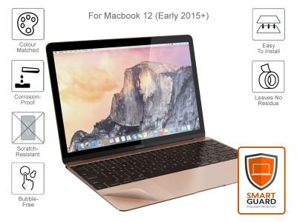 MacBook 12 A1534 MacGuard - Rose Gold