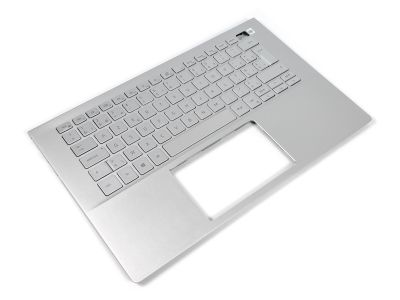 Dell Inspiron 14-5401/5402/5405 Palmrest & BELGIAN Backlit Keyboard - 09TNWY + 05RK1G (00010PC7)