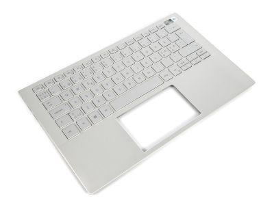 Dell Inspiron 13-5300/5301 Palmrest & NORDIC Backlit Keyboard - 0R1MD6 + 07D4K4