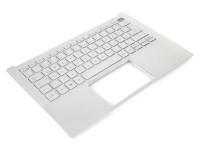 Dell Inspiron 13-5390 Silver Palmrest & GERMAN Backlit Keyboard - 0R18HX + 06VXWW