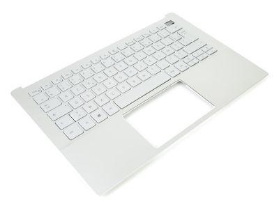 Dell Inspiron 13-5390 Silver Palmrest & FRENCH Backlit Keyboard - 0R18HX + 06RN3Y