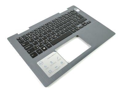 Dell Inspiron 14-5481/5482 Grey Palmrest & CZECH / SLOVAK Backlit Keyboard - 09VMHF + 09M41C