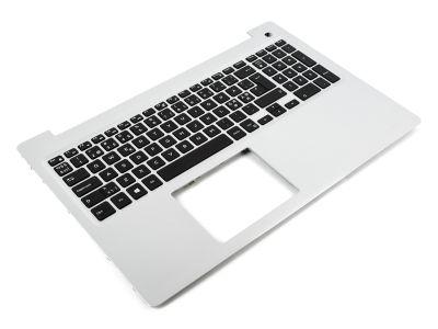 M1FJK / MR2KH 066PD Dell Inspiron 15-5570/5575 Silver Palmrest & NORDIC Keyboard 0M1FJK / 0MR2KH 0066PD